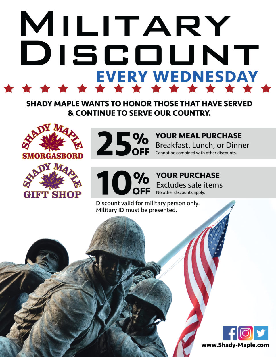 Military Discount2018